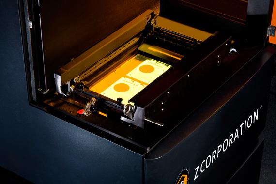 Núcleo de produção de protótipos da ZBuilder Ultra