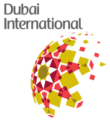 Logo do aeroporto, Dubai Internetional