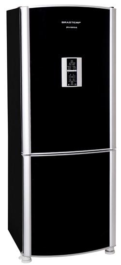 Refrigerador Brastemp Inverse, que traz o freezer na parte de baixo