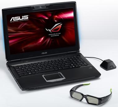 Notebook 3D ASUS com a tecnologia NVIDIA permite imersão em games