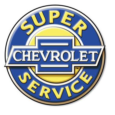 Este logo representava o serviço de assistência técnica da Chevrolet, nos anos 1930 e 1940