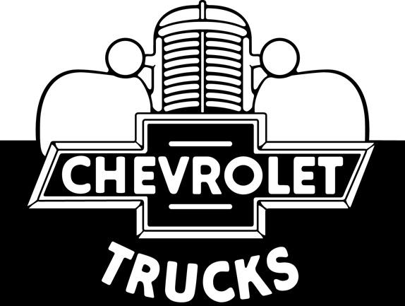 Logo da década de 1950, utilizado na publicidade dos caminhões da marca
