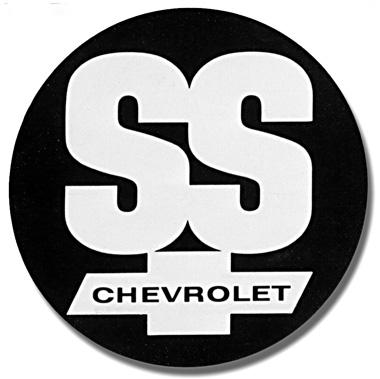 Logo estilizado para as versões SS da década de 1960