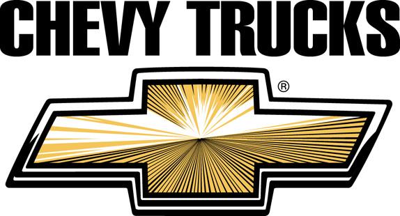 A gravata dourada com a borda preta serviu para identificar alguns caminhões da Chevrolet