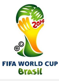 Logo da Copa 2014, criado pela agência África