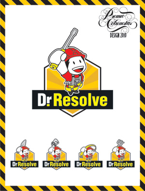 Identidade Dr. Resolve levou prata na categoria Marca, Símbolo Gráfico ou Logotipo