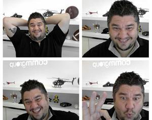 Marcelo Tomaz multiplicado por quatro