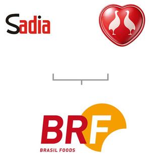 Sadia + Perdigão resultou em BRF, mas as marcas anteriores não desapareceram