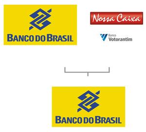 Na fusão Banco do Brasil + Nossa Caixa prevaleceu a marca Banco do Brasil