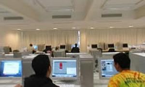 Área de comunicação, arte e design do campus Santo Amaro