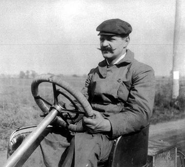 Louis Chevrolet, fundador da Chevrolet Motor Car e piloto de corridas