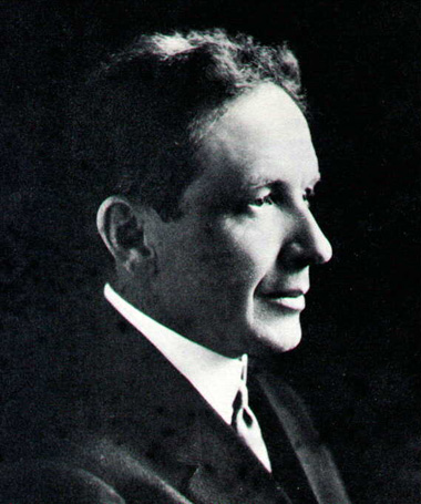 William C. Durant, fundador da GM e sócio de Louis na Chevrolet
