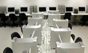 Laboratório de computação gráfica do campus Santo Amaro