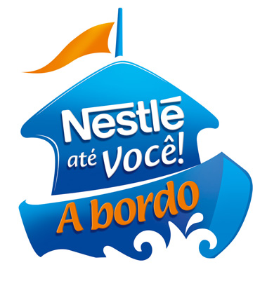 Logo do supermercado flutuante Nestlé