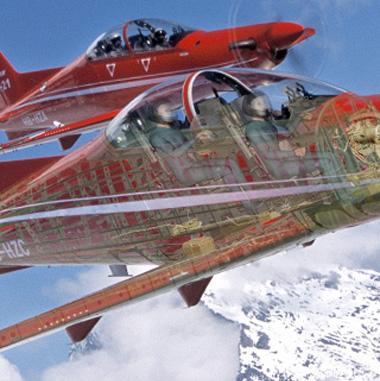 Avião desenhado e projetado no NX