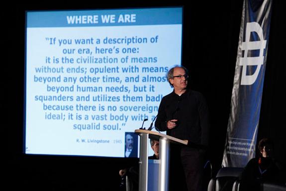 Em evento de design em Vancouver, Ronald falou sobre o design thinking