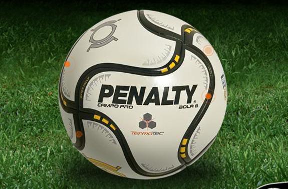 Bola da Penalty, fabricante nacional do qual Mário levou bola oficial aos EUA