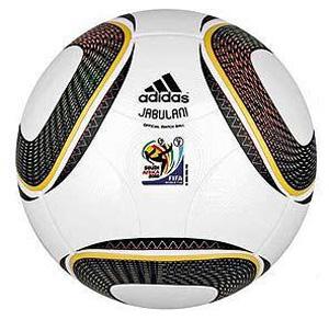 Jabulani, bola oficial da Copa 2010, produzida pela Adidas