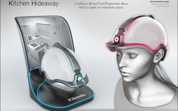 Kitchen Hideaway é um conceito de realidade virtual para preparação de alimentos