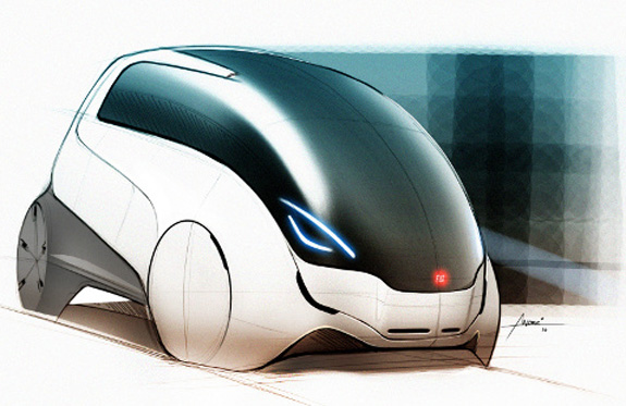 Carro conceito, Fiat FCC III, que estará no Salão do Automóvel em São Paulo