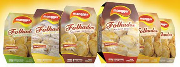 Embalagens da Mangger, criadas pela Faz Design com apoio Sebrae/Abre