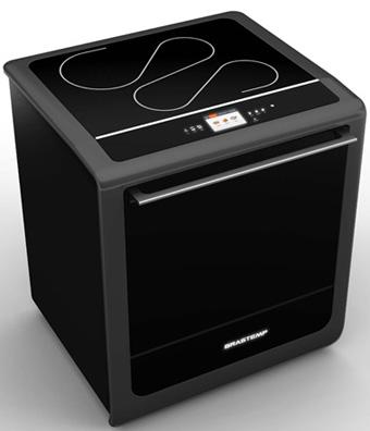 fogão Brastemp é híbrido: com cooktop elétrico e forno a gás