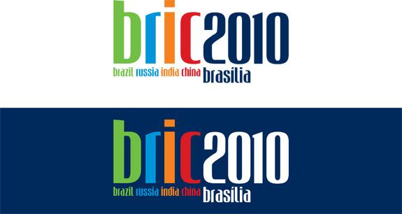Logo da Cúpula do Bric ganhou cores vivas para dar mais expressão à marca