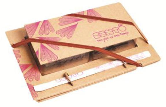 Embalagem To Go do Bentô para viagem, criação Tátil Design
