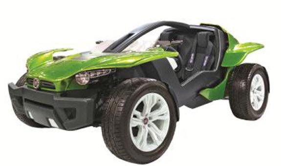 Carro conceito FCC II da Fiat reforça sustentabilidade
