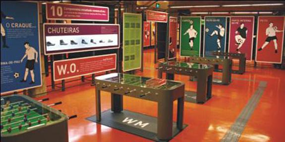Museu do Futebol, em São Paulo