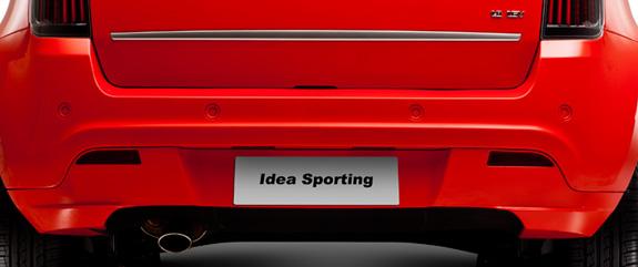 Novo Fiat Idea ganhou também sensor de estacionamento