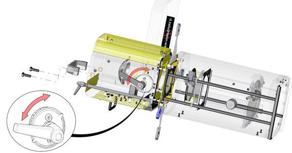 Narrativa de explicações técnicas criada no 3Dvia, que atualiza dos em tempo real
