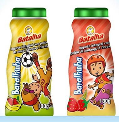 Iogurte Batalhinha, da Batalha, emgalagem Multi Design
