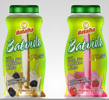 Iogurte Batavita, da Batalha, embalagem Multi Design