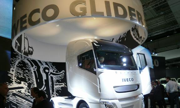 Iveco Glider foi inspirado na águia, que usa sua aerodinâmica para economizar energia