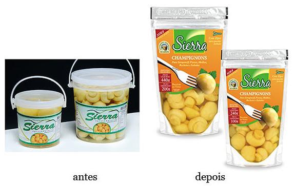 Cogumelos da Sierra, embalagens criadas pelo Estúdio Ricardo Mayer