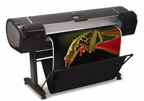 DesignJet Z5200, que traz a tecnologia de impressão HP Instant Printing Pro