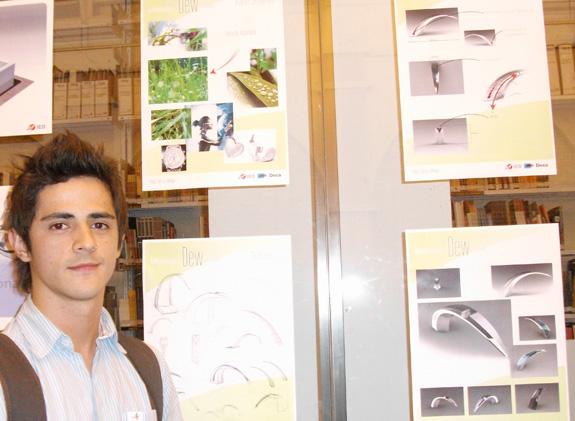 Thiago Ibitinga, segundo colocado, se inspirou no orvalho para criar sua Dew