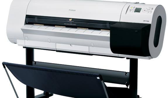 As impressora Canon IPF permitem imprimir em mídias tradicionais e mídias revestidas