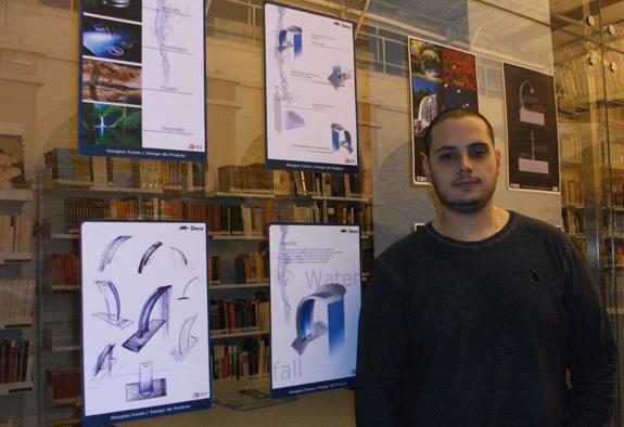 Douglas Couto, primeiro colocado, buscou inspiração na prórpia água