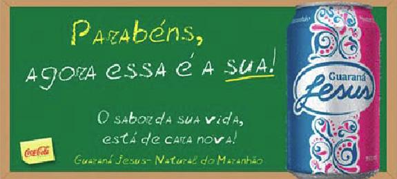 O redesign do guaraná Jesus, pela Dia Comunicação, começou com nova marca