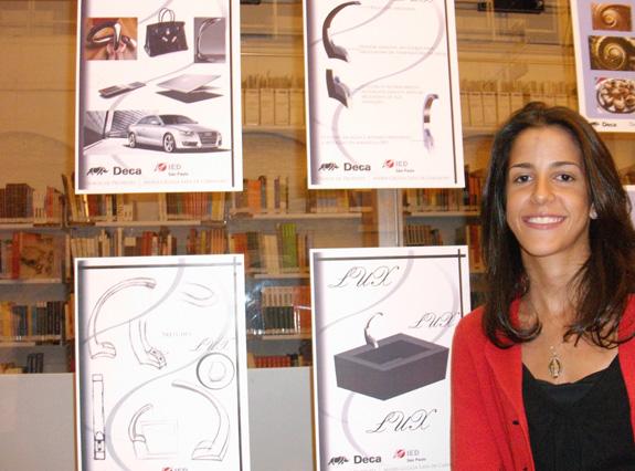 Maria Cecília se inspirou em objetos de luxo para criar torneira Lux