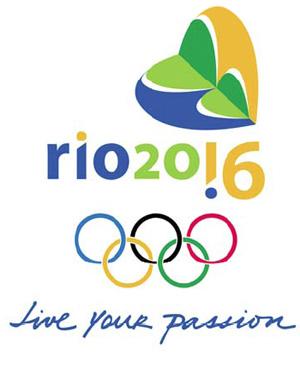 Marca da Rio 2016 criada por Ana Soter para a candidatura do Rio