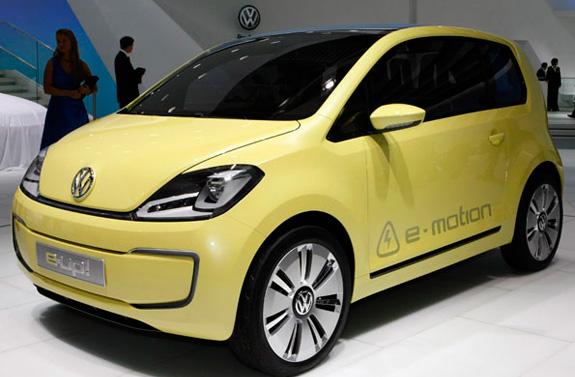 Carro elétrico Volkswagen E-Up, que será lançado em 2013, reforça o mercado dos carros sustentáveis