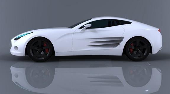 Pegasuss é um cupê de dois lugares e alta performance para concorrer com importados