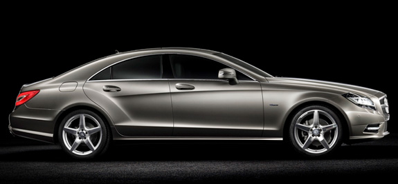 CLS fabricado pela Mercedes-Benz do grupo Daimler