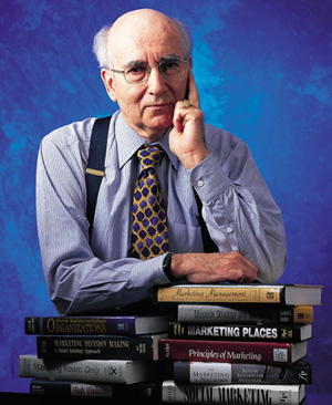 Philip Kotler autor de livros sobre marketing