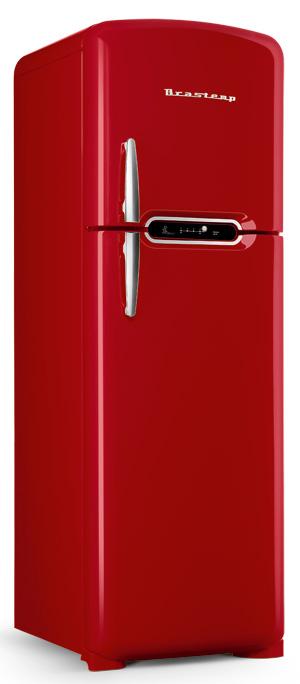Refrigerador Brastemp Retrô traz desgin vintage e tecnologia do século 21