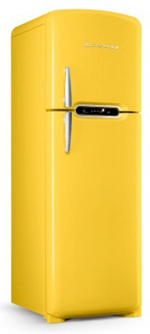 Refrigerador Retrô traz inovações como a tecnologia Frost Free