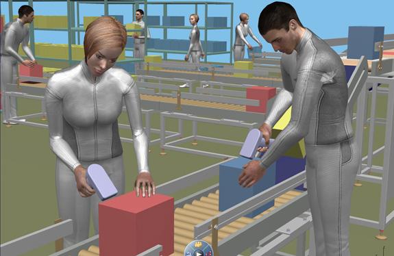 Delmia é a ferramenta do V6 para o desenvolvimento de fábricas virtuais
